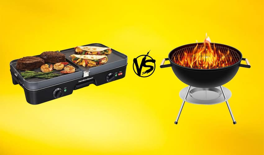 griddle vs grill