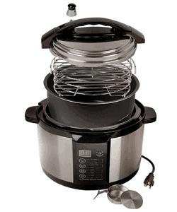 indoor smoker pressure cooker