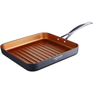 Cooksmark copper indoor grill pan