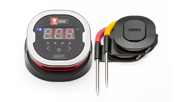 Weber 7203 iGrill 2 Bluetooth Grill Thermometer